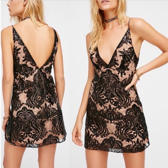 Free People Dresses & Skirts - Free People Night Shimmers Dress
